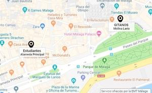 Dónde están las cofradías de Málaga en tiempo real