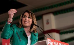 Susana Díaz propone por carta a PP, Cs y Adelante crear una ponencia en el Parlamento para actualizar el Estatuto