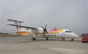 Cuatro vuelos de Air Nostrum, cancelados hoy en Málaga por la huelga de pilotos