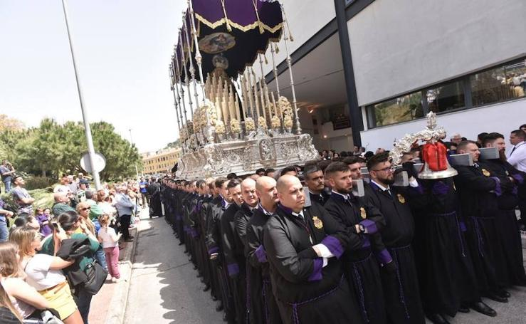 El Lunes Santo de la Semana Santa de Málaga 2019, en imágenes