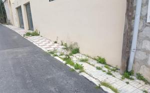 Una calle a medio arreglar