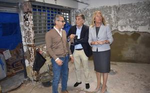 Las obras para atajar las filtraciones del Mercado Central de Marbella acabarán antes de verano