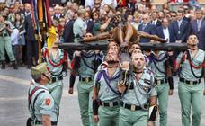 Cómo seguir en directo el desembarco de la Legión del Cristo de Mena en Málaga el Jueves Santo