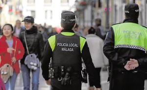 Inspección Médica da de alta por SMS a varios de los policías locales de Málaga que se dieron de baja el Domingo de Ramos