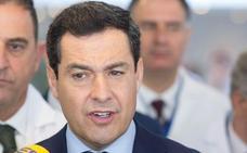 Juanma Moreno lamenta la muerte de Manuel Alcántara, «un andaluz sabio y brillante, con una mente clara y abierta»
