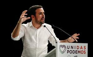 Garzón confía en que campaña sirva para «reconectar» con sus votantes y mantener los dos escaños en Málaga