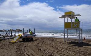 Marbella activa el servicio de socorrismo en las playas
