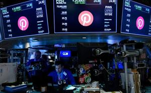 Pinterest se dispara en su debut en Wall Street