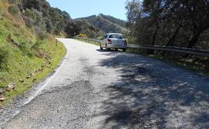 La Diputación de Málaga adjudica por 2,5 millones de euros el arreglo de diez carreteras afectadas por temporales