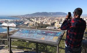 Subida a Gibralfaro: buenas vistas y poco más