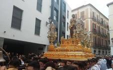 El Resucitado dignifica su imagen con el nuevo trono del Cristo en el cierre de la Semana Santa