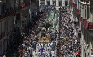 Una Semana Santa distinta y agridulce en Málaga
