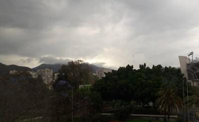 La lluvia podría seguir en Málaga, pero subirán las temperaturas