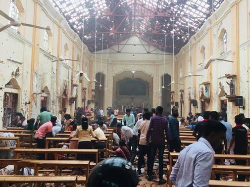 Domingo de Resurrección trágico en Sri Lanka