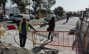 Travesía de Maqueda: piden el rebaje de una acera nueva