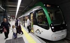 El Metro de Málaga bate su récord de usuarios en Semana Santa