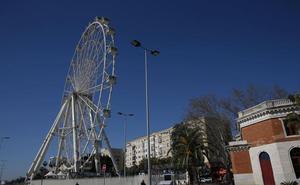El alcalde defiende que la nueva noria se instale junto a la terminal del Melillero