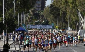 La Carrera de la Prensa alcanza ya medio millar de inscritos