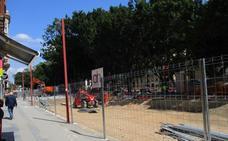 El metro comienza las obras para peatonalizar el lateral norte de la Alameda