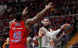 El Buesa Arena podría decidir el cruce entre el Baskonia y el CSKA