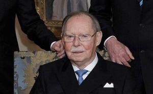 Muere el gran duque Juan de Luxemburgo, héroe de la Segunda Guerra Mundial