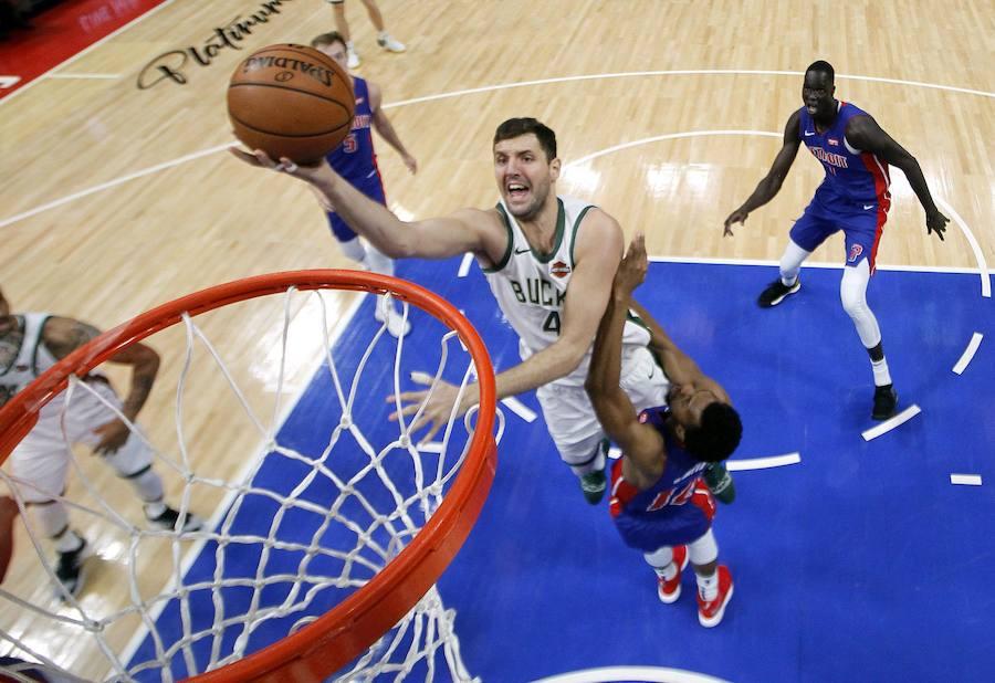 Los Bucks avanzan a las semis del Este y los Jazz siguen vivos de la mano de Ricky Rubio