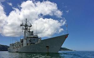 Desde este sábado se podrá visitar la fragata 'Victoria' de la Armada en Málaga