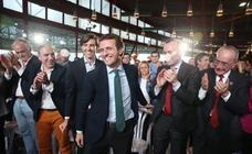 Pablo Casado apura los últimos días de campaña en Málaga