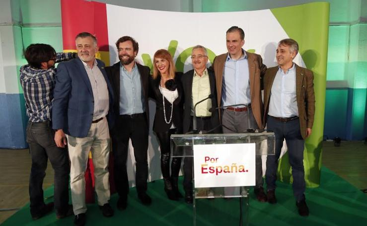 Las imágenes del mitin multitudinario de Vox en Málaga