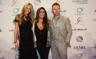 María Bravo y Ronan Keating recaudarán fondos en Marbella para la Casa Global Gift y el cáncer