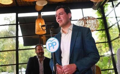 Moreno avisa de que está en juego un gobierno que «acompase las reformas» de Andalucía o que las «intente bloquear»