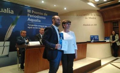 El redactor de SUR Francisco Jiménez, mención especial en el III Premio de Periodismo Aqualia