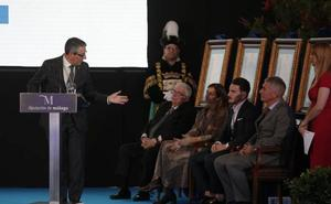 Discurso íntegro del presidente de la Diputación de Málaga en el Día de la Provincia