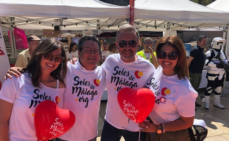 La gran fiesta solidaria 'Soles de Málaga', en imágenes