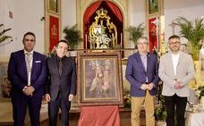Cartel por el centenario de la Virgen del Carmen