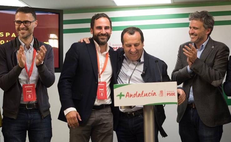 La jornada electoral del 28-A en Málaga en imágenes