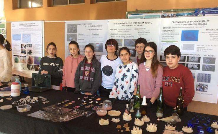 Concurso de Cristalización en la Escuela