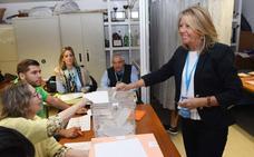 Ángeles Muñoz consigue superar a Ciudadanos en la elección para el Senado