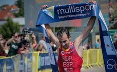 Rubén Ruzafa busca su octava corona mundial en triatlón cross