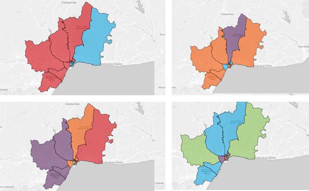 Así se ha votado en los distintos distritos censales de Málaga