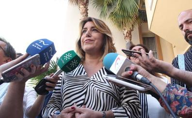 Susana Díaz: «Si Casado cree que Vox es la extrema derecha debería romper con ellos en Andalucía»