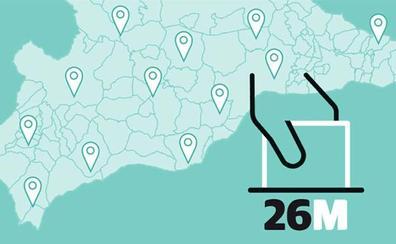 Candidaturas a las elecciones municipales en El Borge