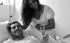 «La vida tiene a veces esa extraña manera de recordarnos celebrar cada latido», Sara Carbonero visita en el hospital a Iker Casillas