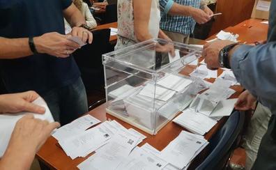 Recuento del voto exterior en Málaga: El PSOE se impone y el PP se queda en cuarto lugar
