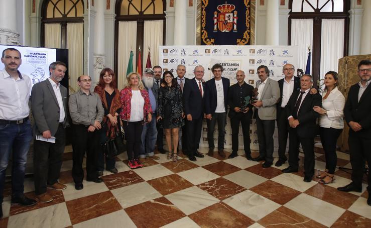 II Certamen de Viñetas Periodísticas de la Asociación de la Prensa de Málaga