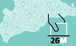 Todas las listas de los partidos que concurren a las elecciones municipales del 26M en Málaga y provincia