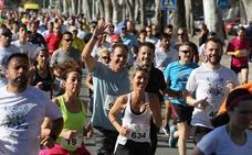 Las fotos de la Carrera de la Prensa de Málaga
