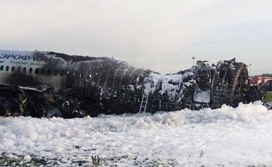 Un rayo desató la catástrofe en Moscú