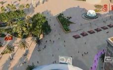 Daniel Pérez propone peatonalizar la plaza de la Marina y el Parque para unir el Centro con el Puerto