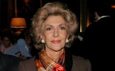 Muere a los 88 años Pitita Ridruejo, reina del glamur y la mística